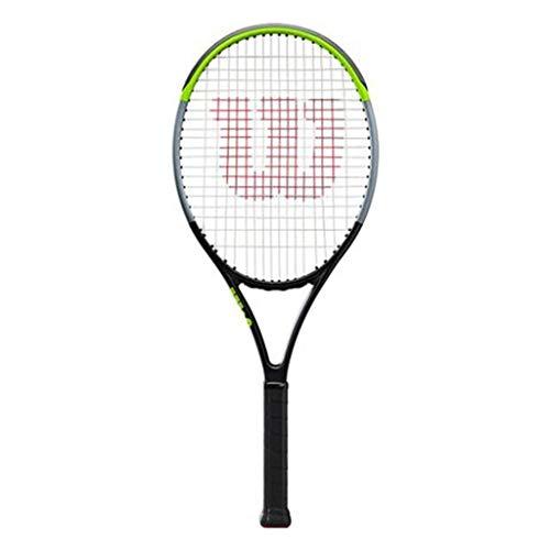 CDPC Raqueta Juvenil Profesional de Fibra de Carbono Raqueta Individual Material de Fibra de Carbono Aspecto Elegante Raqueta de Tenis Profesional