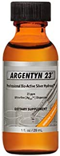 Argentyn 23 Professional Formula Bio-Active Silver Hydrosol for Immune Support* - 1 oz. (29.57 mL) Twist Top Bottle -
