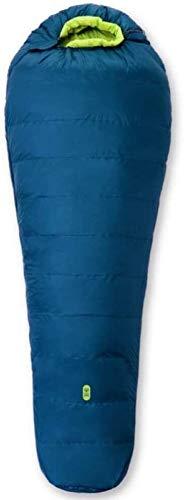 Schlafsack Daunenschlafsack Rohseide (210x85cm), Ultra-leichte Daunen Dicke warme, Outdoor-Tourismus Unterkunft