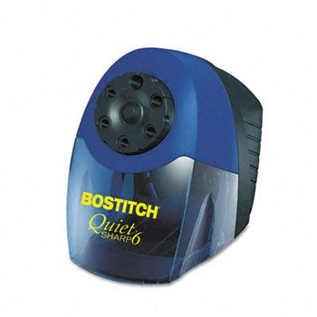 Stanley Bostitch Quiet Sharp 6 Commercial Electric Pencil Sharpener SHARPENER,HEAVY DUTY,BE 364 (Pack of2)