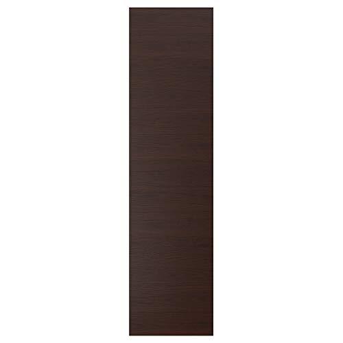 ASKERSUND panel de cubierta 61,5x240 cm efecto ceniza marrón oscuro