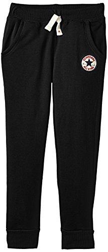 Converse Jungen Core Sporthose, Schwarz (Black), Large (Herstellergröße: 12-13Y)