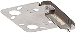 LFU Leo Brass LED Hardscape Paver Recessed Light. Built in 1W LED. Low Voltage. Antique Bronze Finished. LF5020AB-LED. (Brass - Length, 3 Inches)