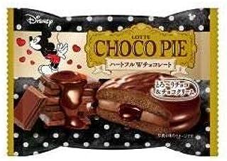 ロッテ チョコパイ ハートフルWチョコレート 1個×6入