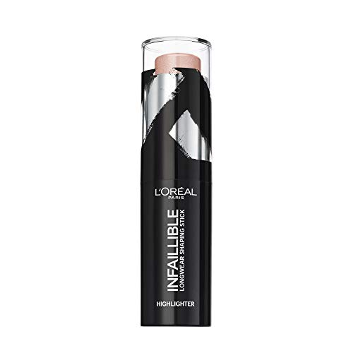 LOréal Paris Infallible, Stick Iluminador 24h, Tono 501 Oh My Jewels - 9 gr