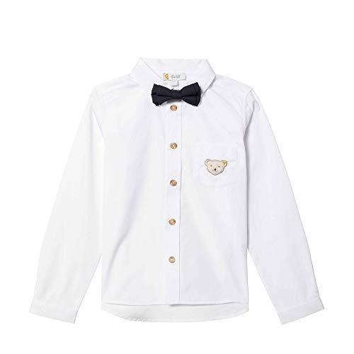 Steiff Jungen Hemd, Weiß (Bright White 1000), 116