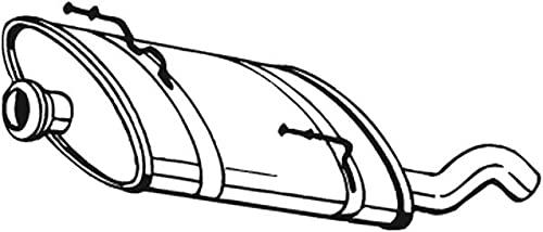 Bosal 190-873 Silencieux arrière