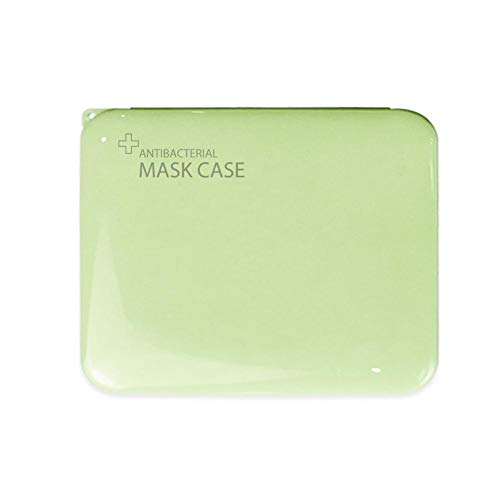 Freedomanoth Caja De Almacenamiento De Máscaras Desechables 105x130x12mm A Prueba De Polvo E Impermeable