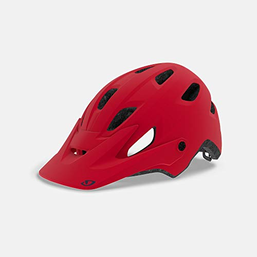 Giro Cartelle MIPS Womens Mountain Cycling Helmet - Small (51-55 cm), Matte Bright Red (2020) -  7100277