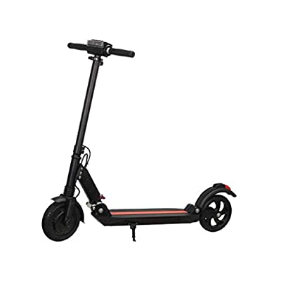 "pan hui Electric Scooter - 350W Motor 8"" Tires,Non-Pneumatic Foam Filled Maintance Free Tires for Commute Ultra-Lightweight Adult Electric Foldable Scooter for Commute and Travel"