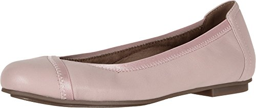 Vionic Women s Spark Caroll Ballet Flat - Ladies Dress Casual Shoes with Concealed Orthotic Arch Support Light Pink 7 Medium US