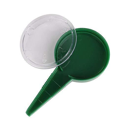 2Pcs Samenverteiler, Samenpflanzer, Gartenpflanzer Gartenbedarf für Gartengemüsefarm