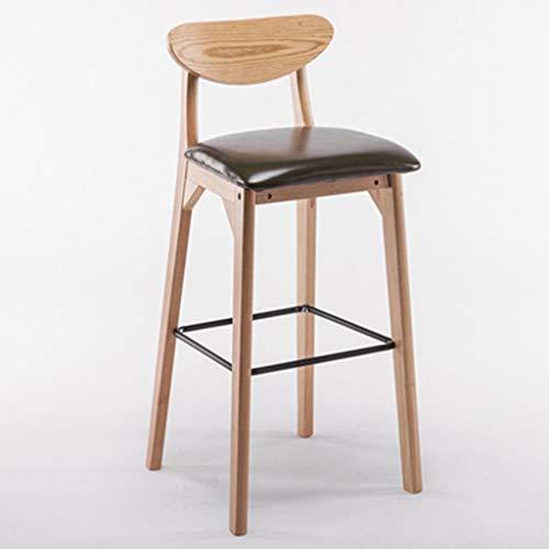 STOOL JBD Retro barkruk persoonlijkheid creatieve massief hout hoge voetstoel Scandinavisch eenvoudige café teller stoel huishouden
