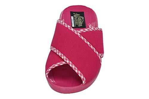 ZAPATOP 220 Zapatillas Cruzadas Mujer Zapatillas CASA Fuxia 38