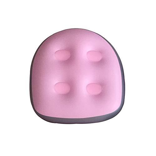 Anjinguang Süße rosa Spa-Massagekissen Sitzpolster wasserdichte Entspannung Massagematte Spa und Whirlpool Booster Sitz für Erwachsene Ältere Kinder zu Hause Spa & Erholung