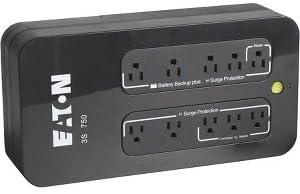 Eaton 3S UPS - 750 VA/450 W - 132 V AC - 2 Minute - Desktop, Mini-tower - 2 Minute - 5 x NEMA 5-15R - , 5 x NEMA 5-15R - 3S750