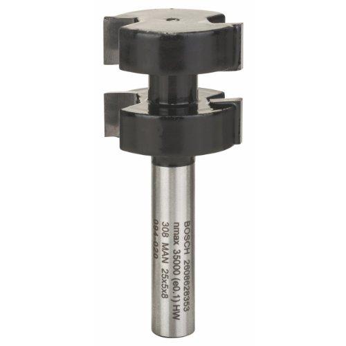 Bosch Professional Zubehör 2608628353 Federfräser 8 mm, D1 22 mm , L 8 mm, G 58 mm