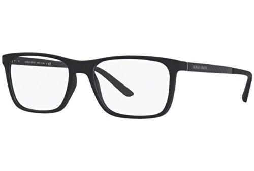 (ジョルジオ アルマーニ) GIORGIO ARMANI マットブラック メガネフレーム 眼鏡 めがね ARM-GA-7104-5063 [並行輸入品]