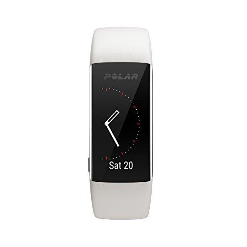 Polar A370 Reloj de fitness con GPS conectado y Frecuencia cardíaca en la muñeca. Actividad 24/7 - Blanco, S