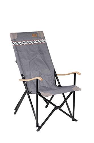 Bo-Camp Urban Outdoor-Campingstuhl-Camden, grau, Einheitsgröße