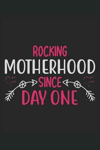 mecedora de la maternidad desde el primer día, cuaderno: Bo