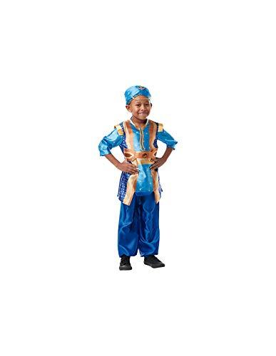 DISBACANAL Disfraz Genio Aladdín para niño - -, 5-6 años