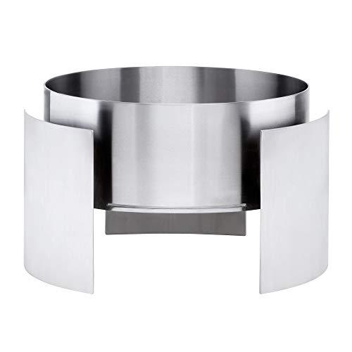 Conmoto Designer vuurhaard Fera roestvrij staal