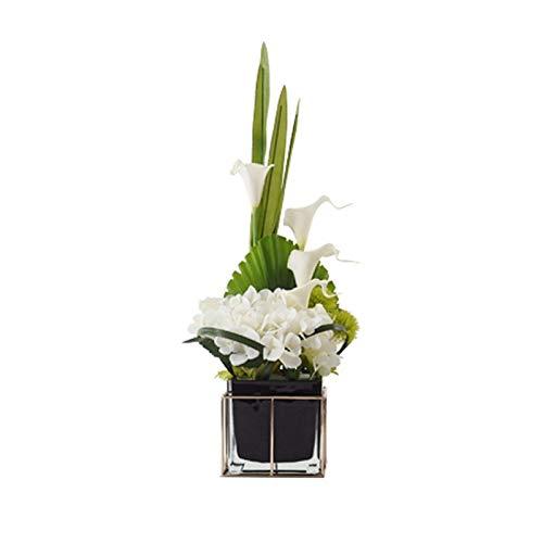Flores Artificiales Estilo chino artificial luz de la flor artificial falso lujo...