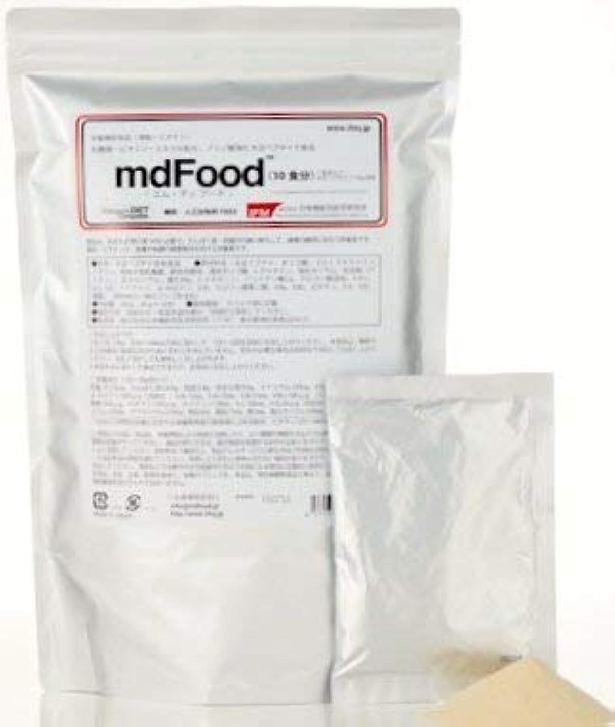 神経衰弱ドア後退する日本機能性医学研究所 mdFood 「エムディ?フード」10食分