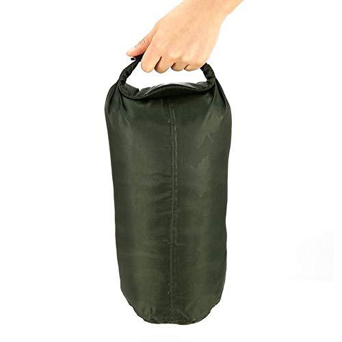 Bolsa de almacenamiento para exteriores con correas de hombro, fácil de transportar, impermeable, gran capacidad, flotante, 8 L/40 L/70 L, bolsa plegable impermeable seca (70 L)