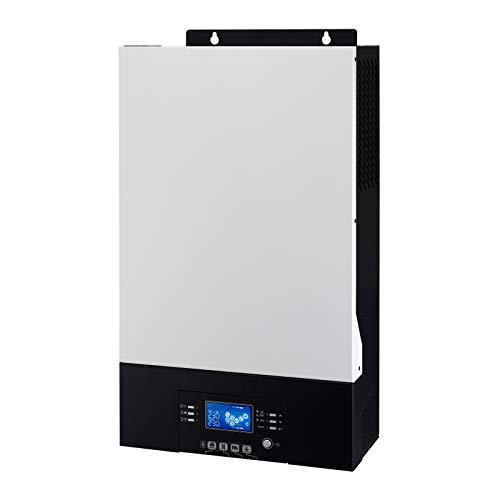 Iconica 5000 W 48 V Reiner Sinuswellenrichter mit Nullübertragung, 4000 W Solareingang, 80 A MPPT Solarregler, 60 A Netzladegerät, parallele Funktion und Bluetooth (Keine Batterie erforderlich)