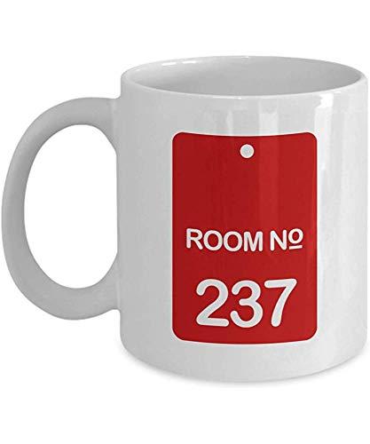 Horrorfilm Kaffeetasse Zimmer 237 Inspirierte Zitate Film Kino Filmbuch Mystisch isoliert Historisches Hotel Schauspieler Schauspielerin Fan