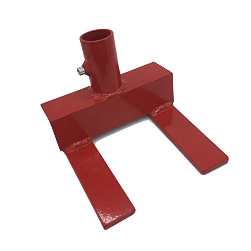 Ewandor Pallet Buster | Deck Wrecker, Pallet Disassembly Tool | Deck Board Tool, Best Wrecking Bar for Breaking Pallets - Industrial Breaker for Removing or Tearing Down Woods, Red