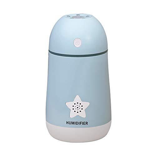 FMOGE Leise Luftbefeuchter 30 DB Ultraschall-Luftbefeuchter Mit Kühlem Nebel Und 8 Bis 12 Arbeitsstunden Ideal Für Schlafzimmer, Babyzimmer, Wohnzimmer,Duftöldiffusoren