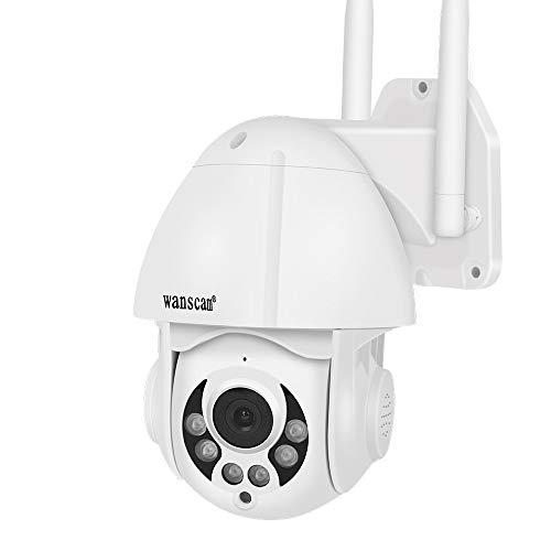 Hdliang Cámara IP Inalámbrica 1080P PoE al Aire Libre WiFi Detección de...