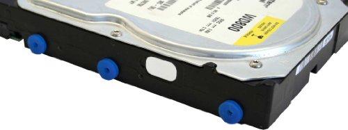 InLine 00244A8er Pack  Silikon Unterlegscheiben, zur Laufwerks-Entkopplung