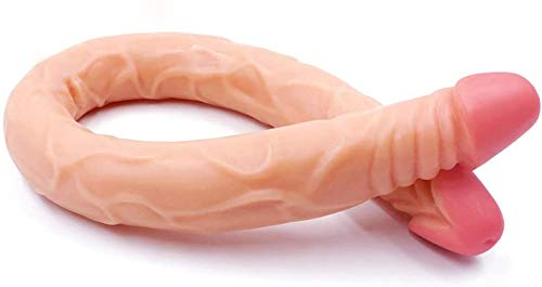 N / A Large Long Silicone Hollow Strap On for Men (Style : L (cm))