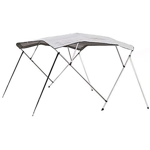 Best Choice Products 91x96in 4-Bow Bimini Waterproof Top Boat Cover