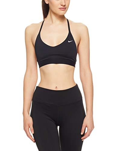 Nike Indy Light Sports - Reggiseno Sportivo da Donna, Donna, Reggiseno Sportivo, 928991-010, Nero (Black/White), XL