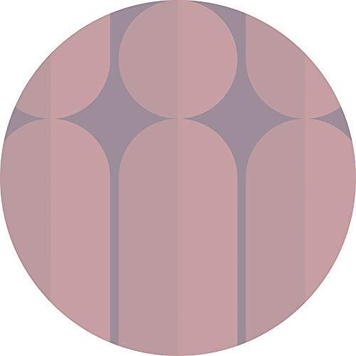 Komar DOT runde und selbstklebende Vlies Fototapete Bauhaus Fusion - Ø Durchmesser 125 cm - 1 Stück - Tapete, Dekoration, Wandtapete, Wandbild, Wandbelag, Designtapete - D1-003