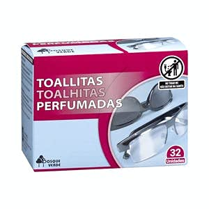 Toallitas Limpiagafas monodosis perfumadas