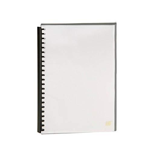 Pasta Catálogo Espiral A4, Yes, 2320CCR, 20 Envelopes, Cristal