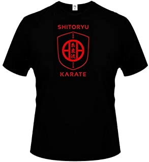 T-Shirts - New Fashion shitoryu #karate short-sleeved cotton T-shirt men bottoming shirt solid color Casual clothes Male T...