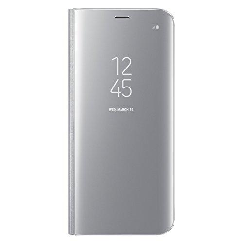 Galaxy S8+ (6.2インチ)用 CLEAR VIEW STANDING COVER【Galaxy純正 国内正規品】ブラック EF-ZG955CBEGJP
