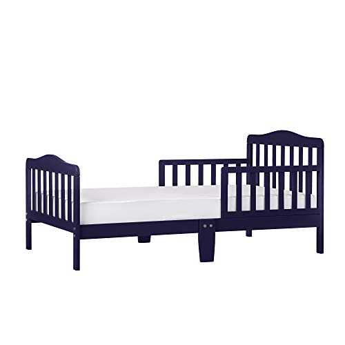 Dream On Me Classic Design Toddler Bed in Navy, Greenguard Gold Certified