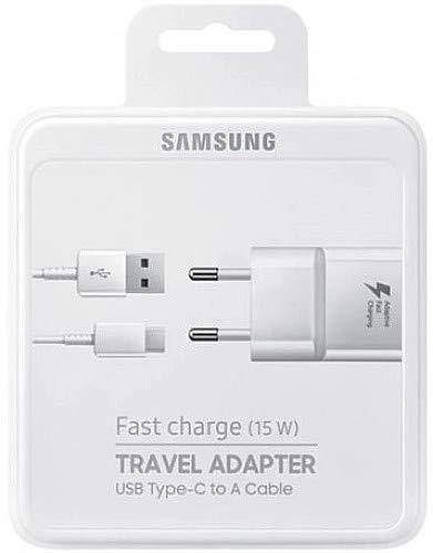 Samsung EP-TA20EWE - Cargador de viaje (220 V/2 A, USB tipo C)