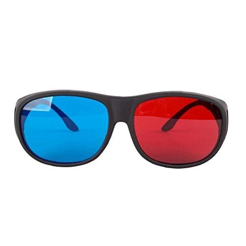 Naicasy Rojo-Azul Cian Gafas 3D anaglifo Estilo Simple Gafas 3D estéreo Juego...