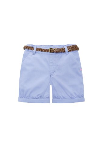 Bellybutton Kids Mädchen Short 11305-40000 Chinoshorts, Gr. 128, Blau (blue)