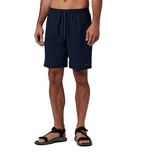 Columbia Pantalón corto elástico Summertide para hombre - azul - XL/20 cm tiro