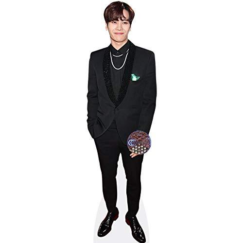 Celebrity Cutouts Jackson Wang (Black Outfit) Pappaufsteller Mini